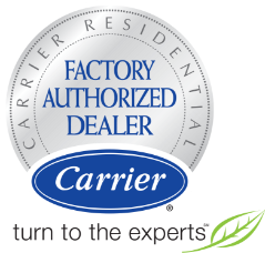 Factory Authorized Dealer of Carrier HVAC Products and furnaces